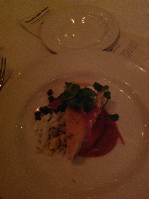 Smoked Salmon Cheesecake I devoured at Emeril's Orlando back in March