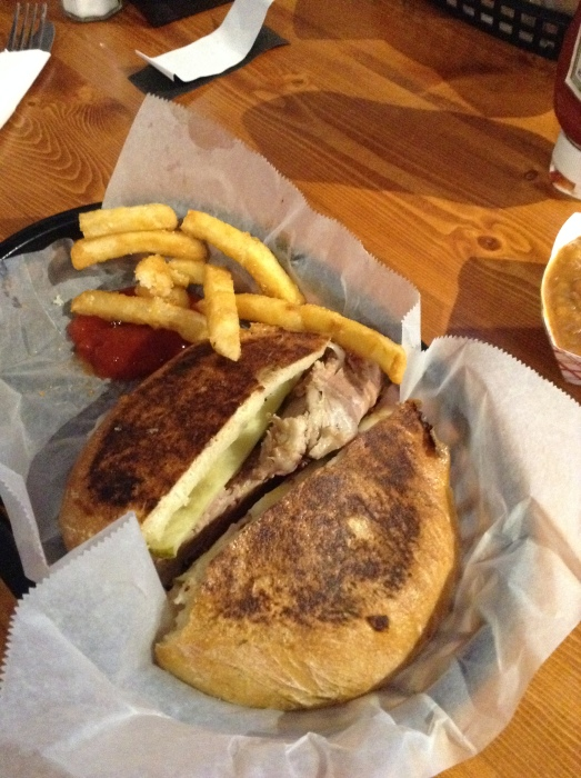 The Cuban Sandwich at The Precinct