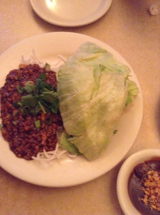 Lettuce Wraps with tender pork